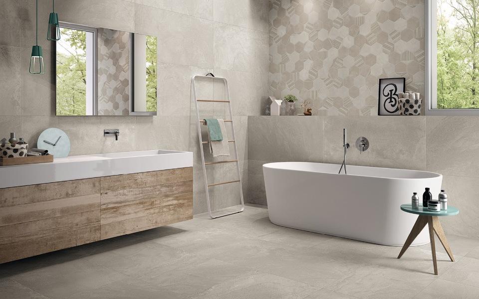salle de bain chaleureuse